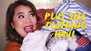 PLUS SIZE CLOTHING HAUL AND TRY ON (SUPER TRENDY!)   HelenOnFleek