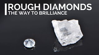 Rough diamonds - How diamonds look like before they are cut and polished