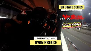 On Board Series | 02-12-21 | Ryan Preece | New Smyrna Speedway