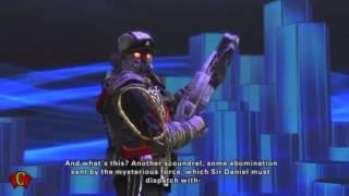 Playstation Allstars Battle Royale Cutscenes 'Sir Daniel Fortesque Rival' & Ending Cutscenes【HD】