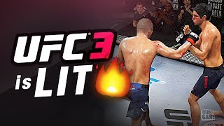 EA Sports UFC 3 BETA - NEW Stand up System in Game Footage!