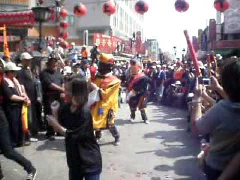 2011年 北港濟世會 下午起馬表演 農曆三月十九 北港迎媽祖 - 北港迎媽祖