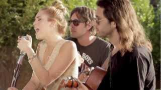 "Miley Cyrus - The Backyard Sessions - Look What They've Done To My Song ""Subscribe -me"""