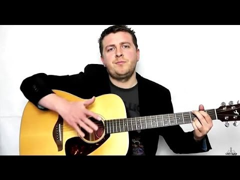 Hallelujah - Fingerstyle - Guitar Tutorial - Intermediate Instrumental - Drue James