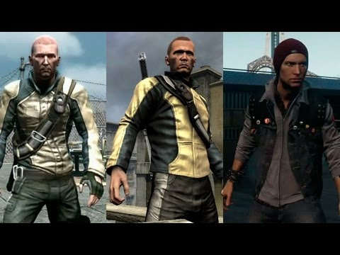Infamous Second SON VS Infamous 1 & 2 | Evolucion Grafica
