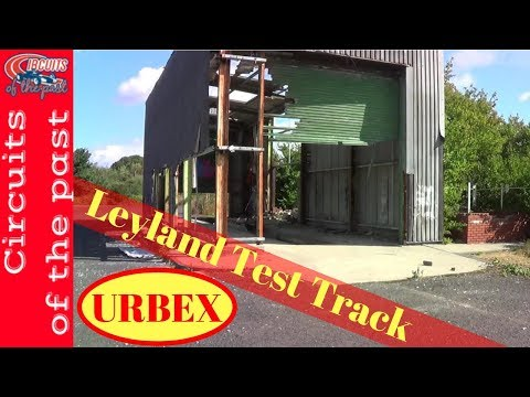 Leyland Test Track - Urban Exploring Infield Track of the Abandoned Circuit