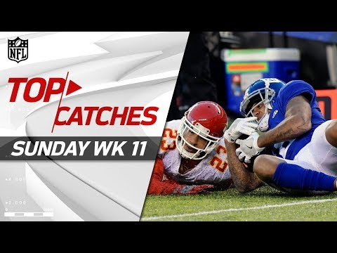 Top Catches from Sunday | NFL Week 11 Highlights