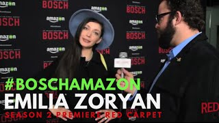 "Emilia Zoryan at the ""Bosch"" Season 2 Premiere from Amazon #BoschAmazon"