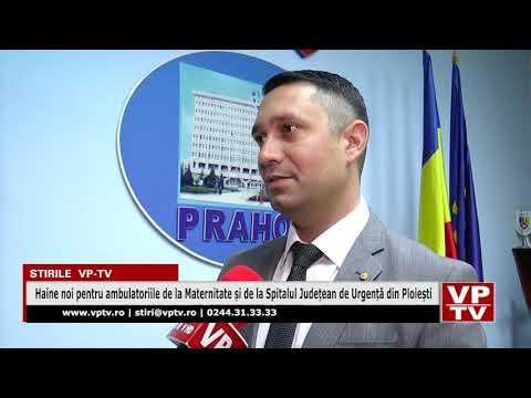 Haine noi pentru ambulatoriile de la Maternitate și de la Spitalul Județean de Urgență din Ploiești