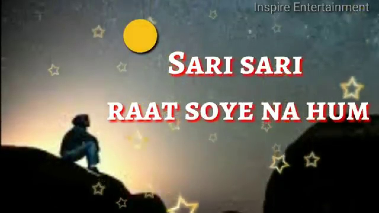 Sari Sari Raat Hindi lyrics