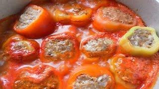 Как приготовить фаршированный перец. | How to cook stuffed peppers.