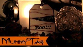DIY HALLOWEEN: Mummy Tag - Etiqueta momia