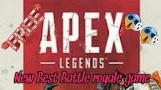 I tried out apex legends