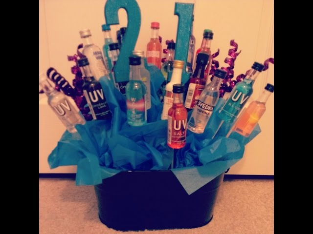 Diy How To Make 21st Birthday Gift Ideas For Him Boyfriend Writing Best