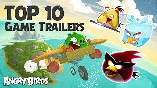 Angry Birds   Top 10 Game Trailers Compilation