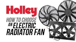 How To Choose an Electric Radiator Fan