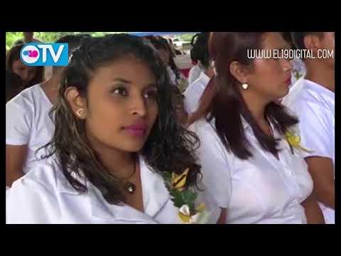 Silais de Matagalpa realiza segunda graduación de auxiliares de enfermería