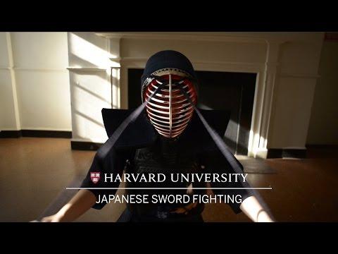 Wintersession at Harvard: Japanese Sword Fighting