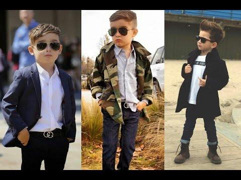 MODA de niños | Tendencias Otoño-Invierno 2017 2018 | Street Style Fashion