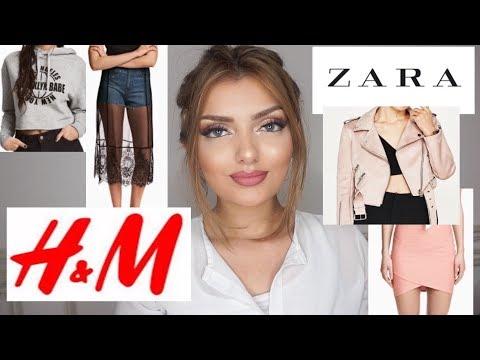 H&M , ZARA HAUL 2017