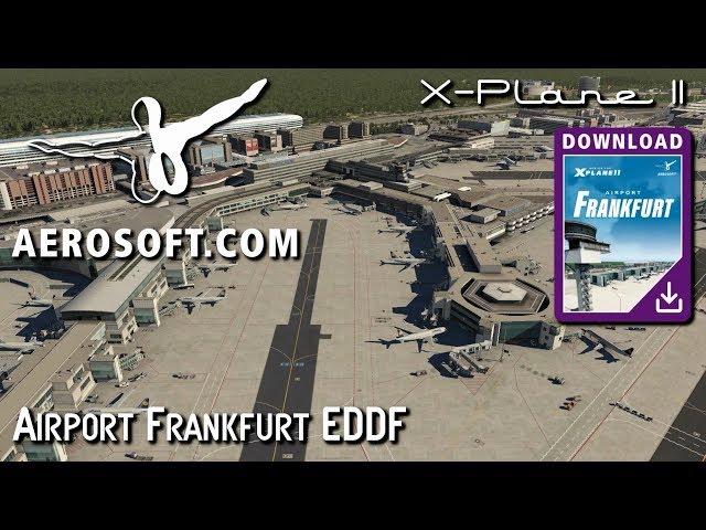 FS2004 - AEROSOFT - MEGA AIRPORT FRANKFURT: Software Free Download