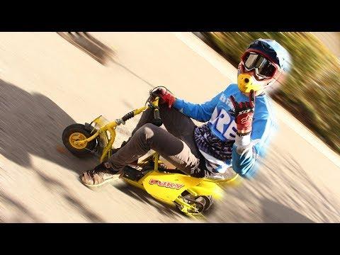 Puky-Roller mit Benzinmotor selber bauen! | 60km/h