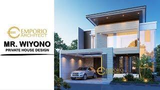 Video Desain Rumah Modern 2 Lantai Bapak Wiyono di  Solo, Jawa Tengah