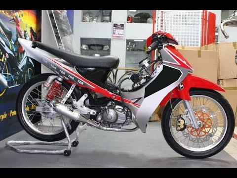 Video Motor Trend Modifikasi | Video Modifikasi Motor Yamaha Jupiter Z Road Race Terbaru