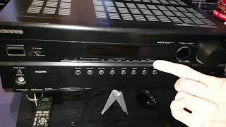 Vorstellung Onkyo TX SR 507 Guter Einstiegs Surround Reciever