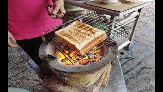 【台灣經典早餐.台南】府城特色早餐!50年來只賣碳烤三明治 焦香土司包進軟滑煎蛋 超香