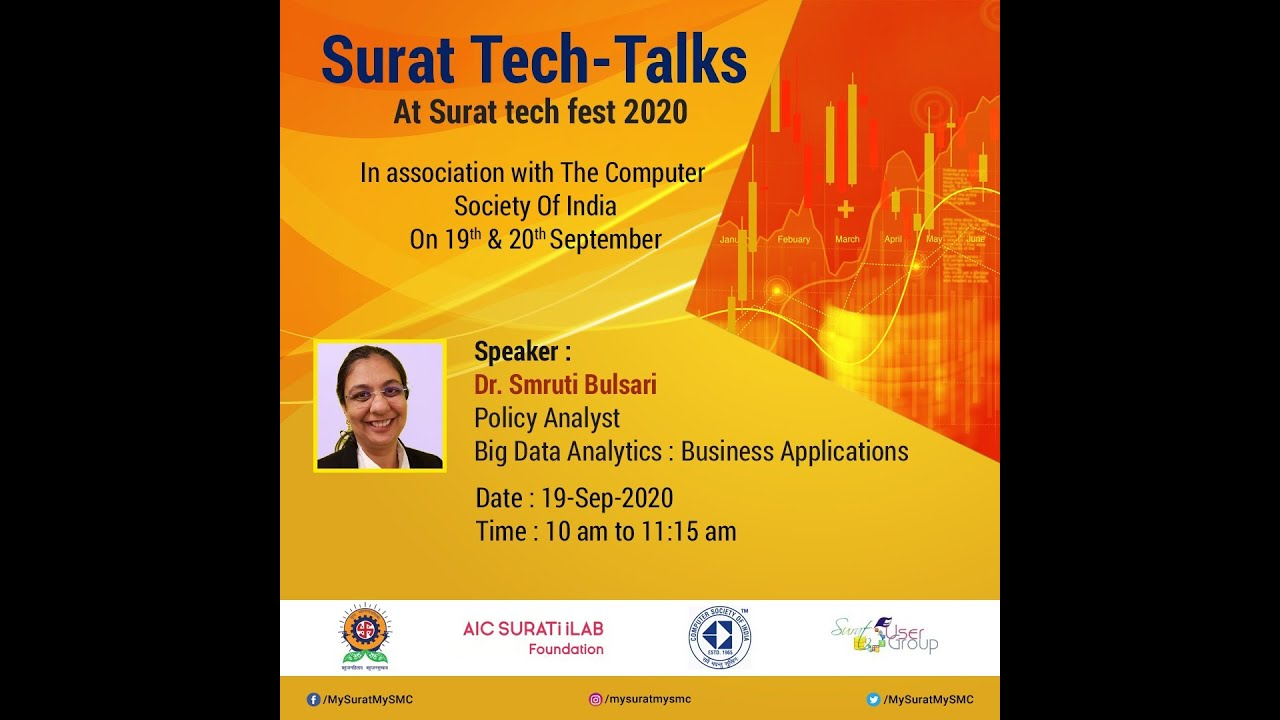 Big Data Analytics: Business Applications -Dr. Smruti Bulsari