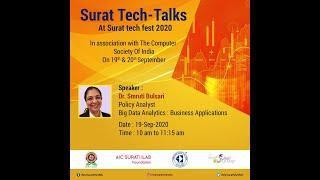 Big Data Analytics: Business Applications -Dr. Smruti Bulsari