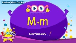 Kids từ vựng biên soạn - Words bắt đầu với M, m 2