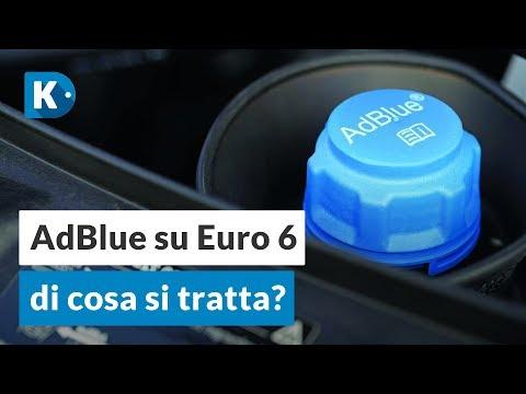 Come funziona un'auto con l'AdBlue?