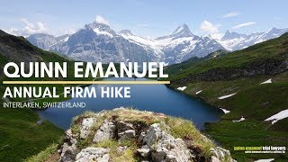 Quinn Emanuel Firm Hike 2019 | Interlaken, Switzerland