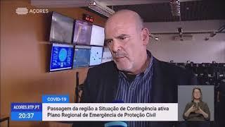13/03/2020: Passagem da Região a Situação de Contingência ativa Plano Regional de Emergência de Proteção Civil