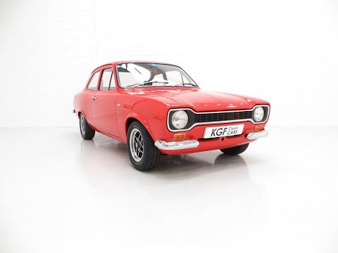 A Collectable Very Rare AVO Mk1 Ford Escort RS1600 In Outstanding Condition - SOLD!