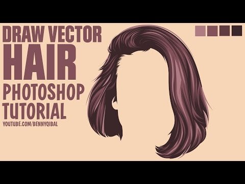 Draw Vector Hair Photoshop Tutorial Kaskus