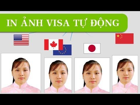 In ảnh Visa đơn giản - đúng chuẩn với 123 Passport