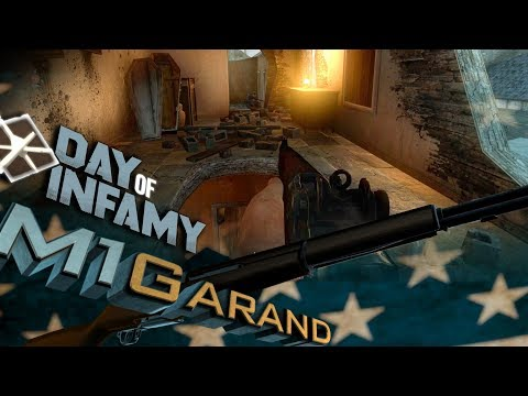 M1 GARAND | Day of Infamy - One Clip Montage [60fps]