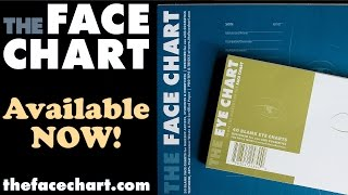 Introducing The NEW Face Chart & Eye Chart!