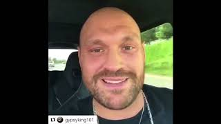 TYSON FURY SENDS CHILLING MESSAGE TO ANTHONY JOSHUA & DEONTAY WILDER AHEAD OF RING RETURN
