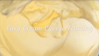 best cream cheese frosting for decorating cupcakes