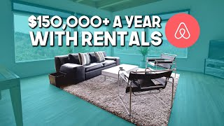 How I Created A Six-Figure Rental Income With AirBnB Business