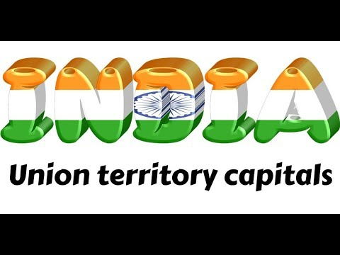 Indian union territory capitals - Full test