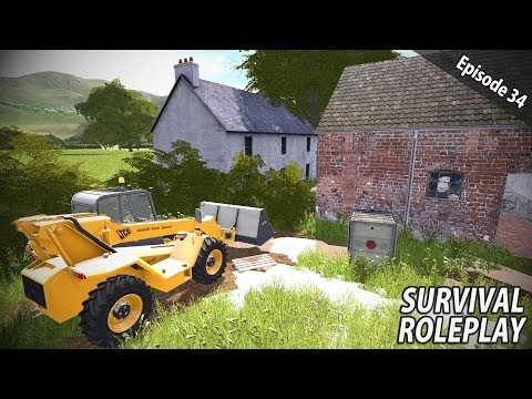 FLOODED FARM SALVAGE CLEANUP | Survival Roleplay | Episode