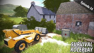 FLOODED FARM SALVAGE CLEANUP | Survival Roleplay | Episode 34