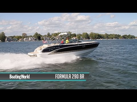 Formula 290 Bowrider video