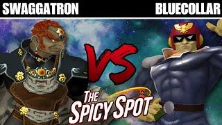 The Spicy Spot: Swaggatron (Ganondorf) vs BlueCollar (Captain Falcon) - Winners Round 6 - Melee