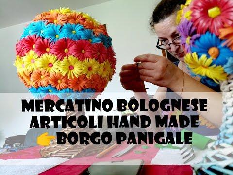 Рынок hand made в Болонье. Наш первый опыт / Mercatino a Borgo Panigale. Bologna.